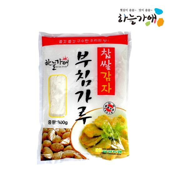 [하늘가애] 안전한 먹거리 전문 함양농협 찹쌀감자부침가루 800g