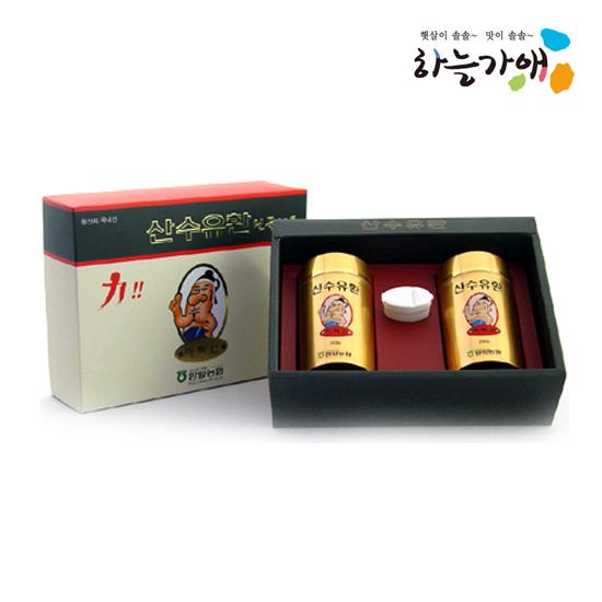 [하늘가애] 안전한 먹거리 전문 함양농협 산수유환 선물세트 200g*2