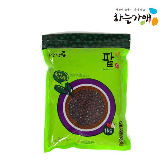[하늘가애] 안전한 먹거리 전문 함양농협 팥(적두) 1kg