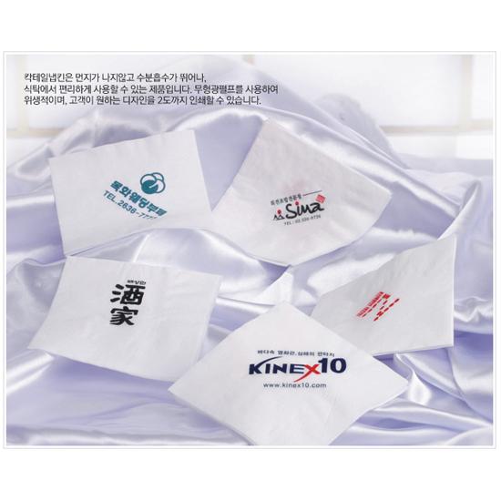 [서부산업] 칵테일 냅킨(인쇄) 1겹 10,000장 / 백색/3박스